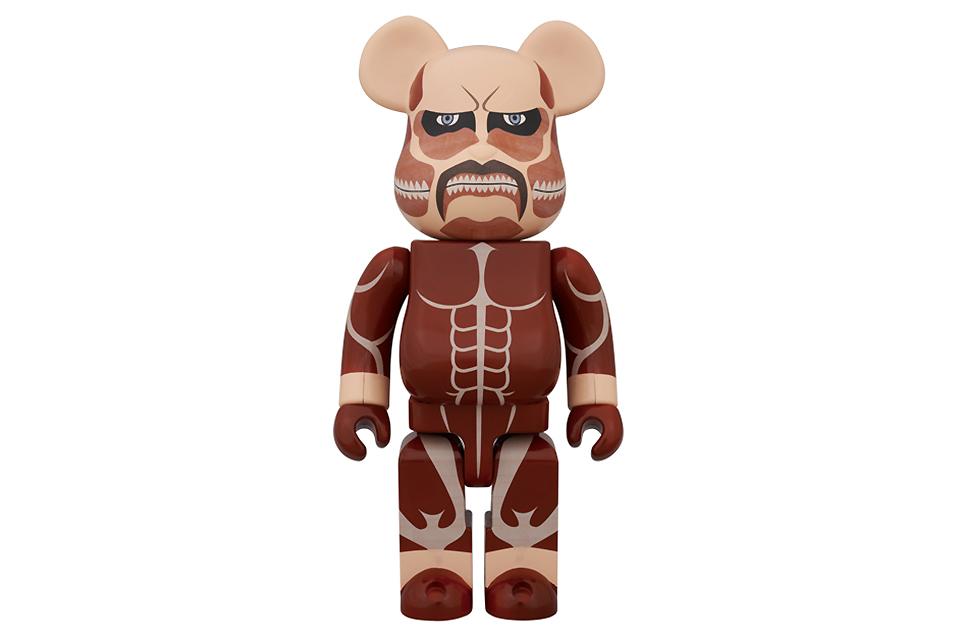 attack on titan x medicom toy 400 bearbrick