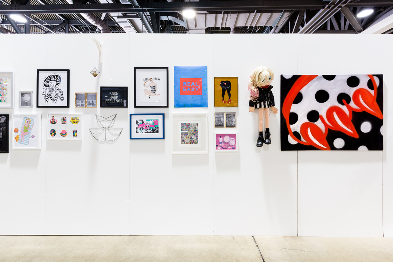 Babe Show: An Art Exhibition Curated by Sophia Chang at Agenda Long Beach Recap