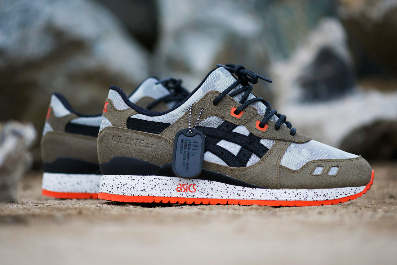 """An Exclusive Look at the BAIT x ASICS Gel Lyte III """"Basics Model-002 Guardian"""""""