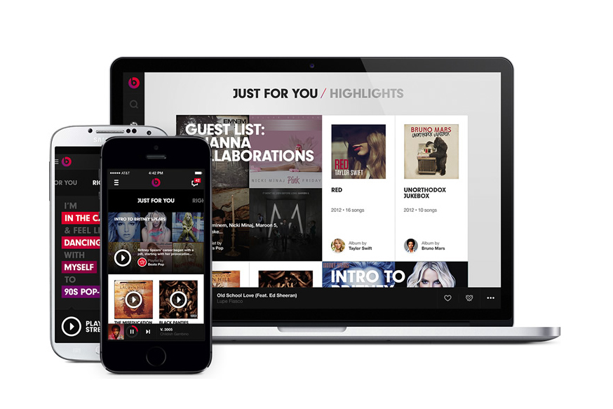 Beats Launches Music Streaming Service