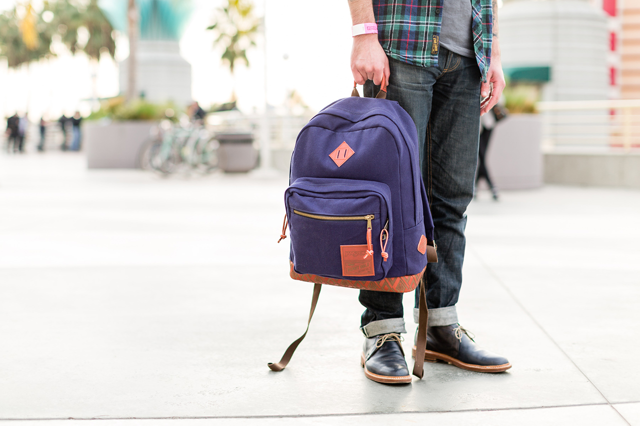 Benny Gold & HUF x JanSport 2014 Fall/Winter Capsule Collection Preview at Agenda Long Beach