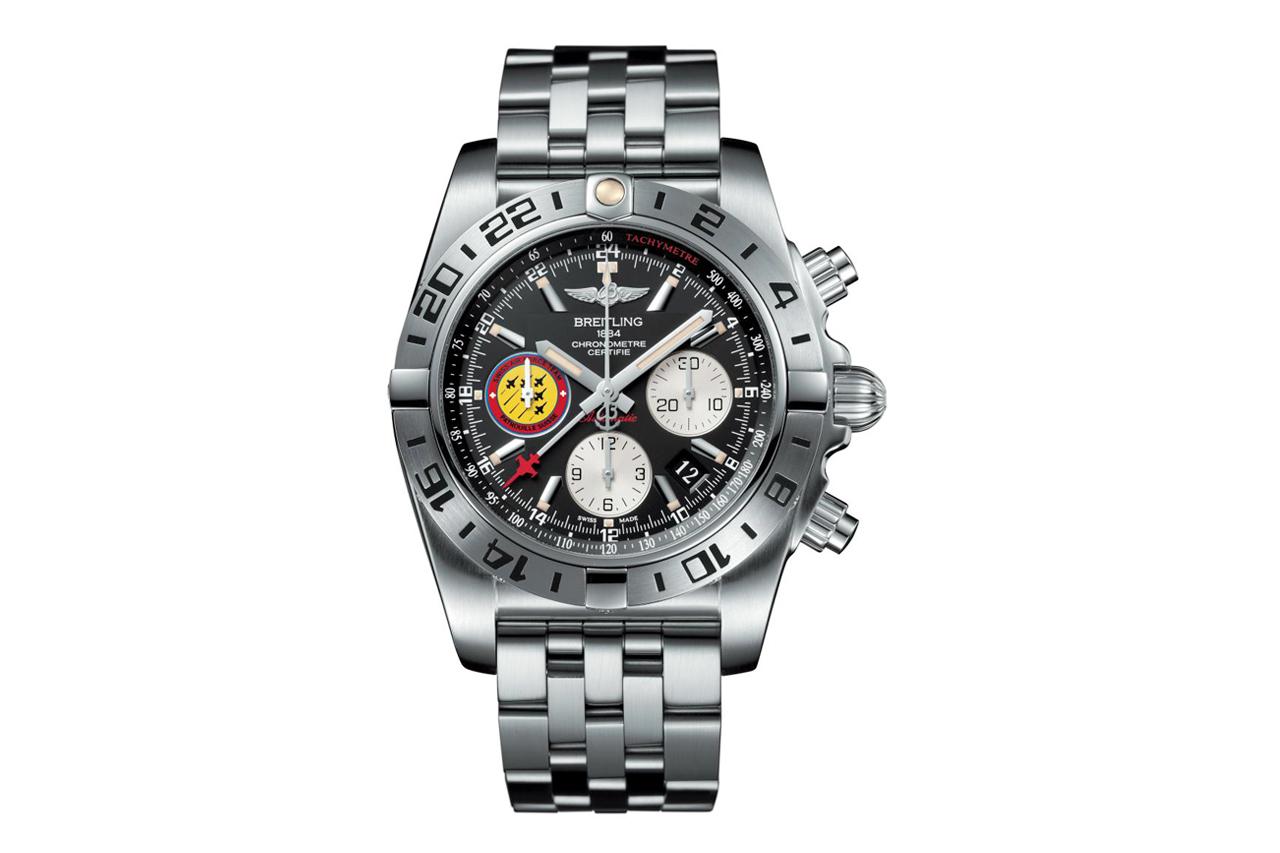 Breitling Chronomat 44 GMT Patrouille Suisse 50th Anniversary