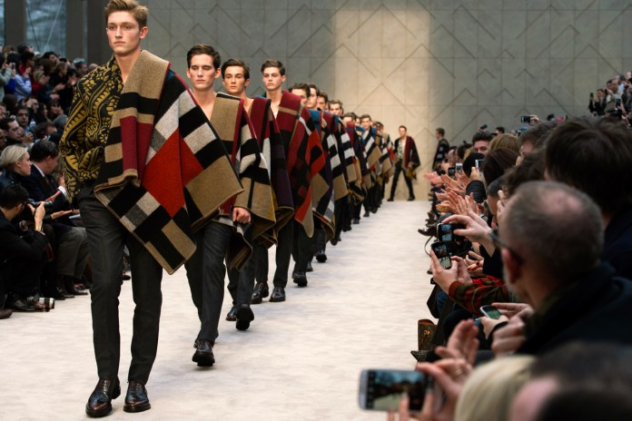Burberry Prorsum 2014 Fall/Winter Show Recap