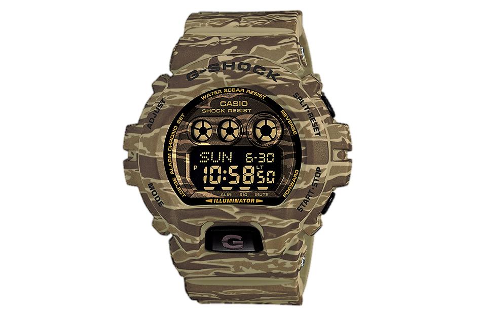 "Casio G-Shock GD-X6900CM ""Camo"" Pack"