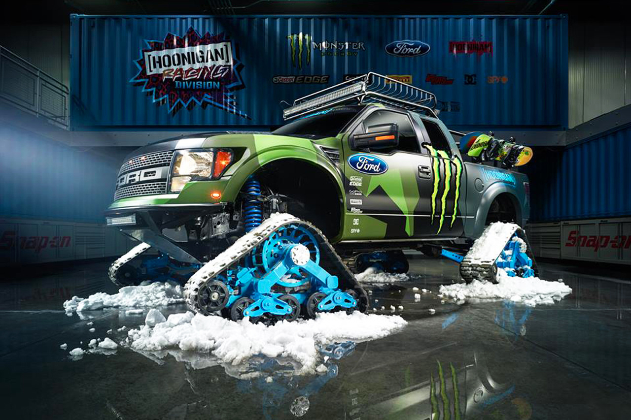 Check Out Ken Block's New Winter Ride