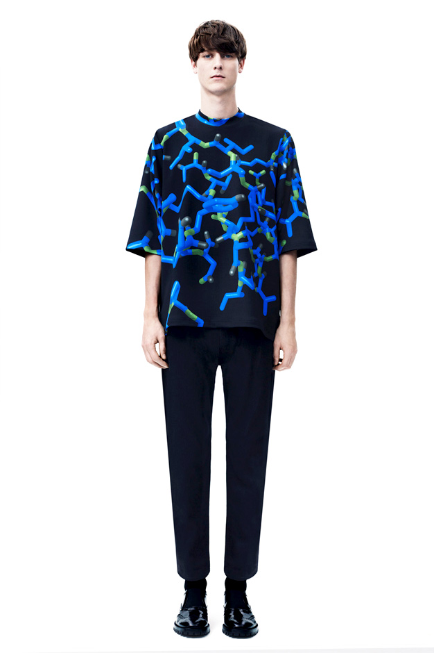 christopher kane 2014 fallwinter menswear lookbook