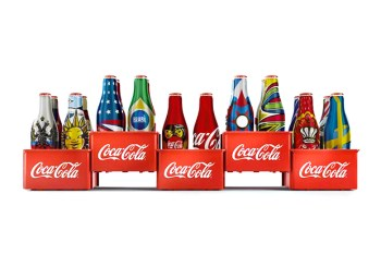 Coca-Cola Special Edition World Cup 2014 Mini Bottles