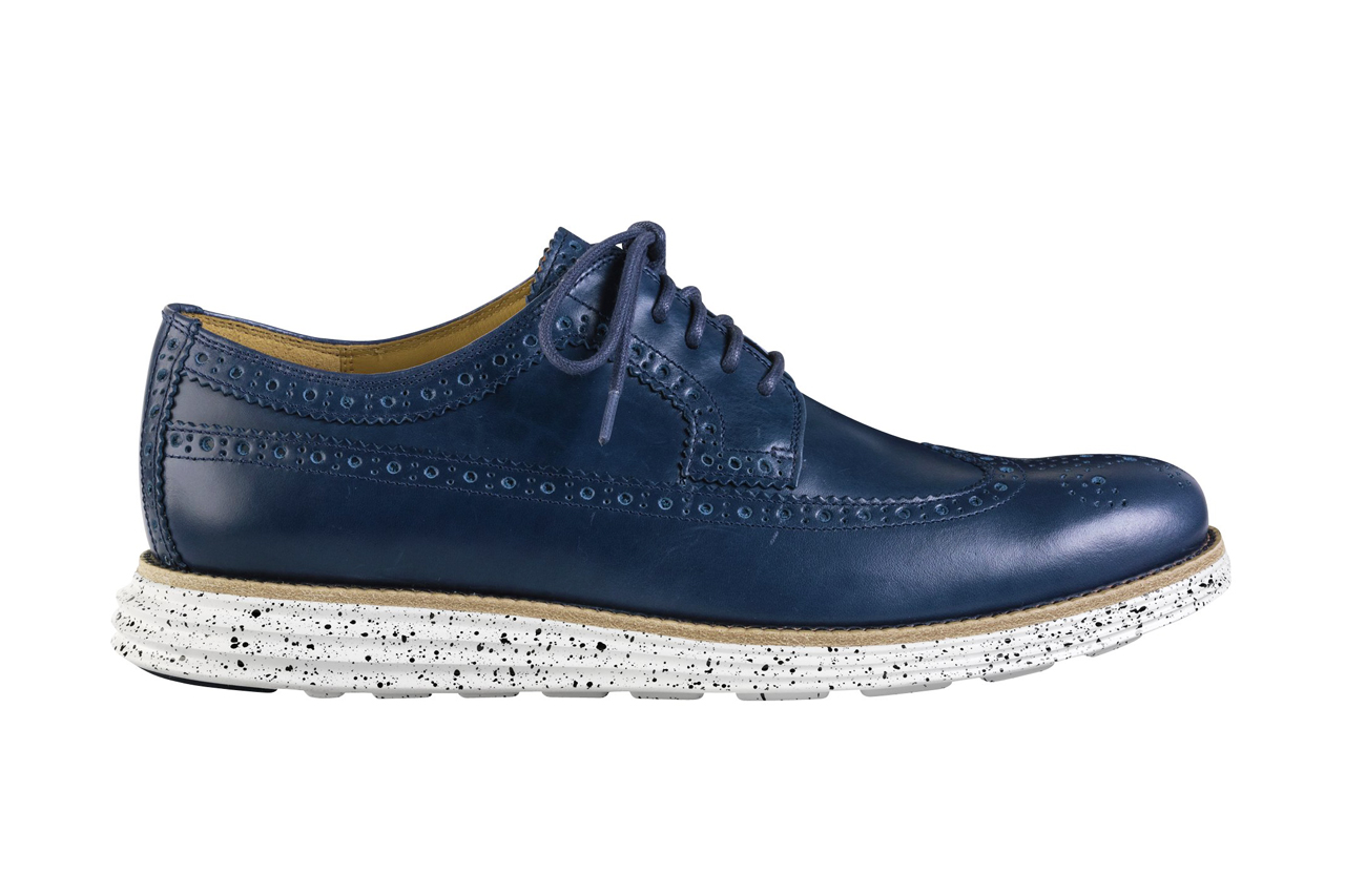 Cole Haan 2014 Spring Lunargrand Long Wingtip Collection