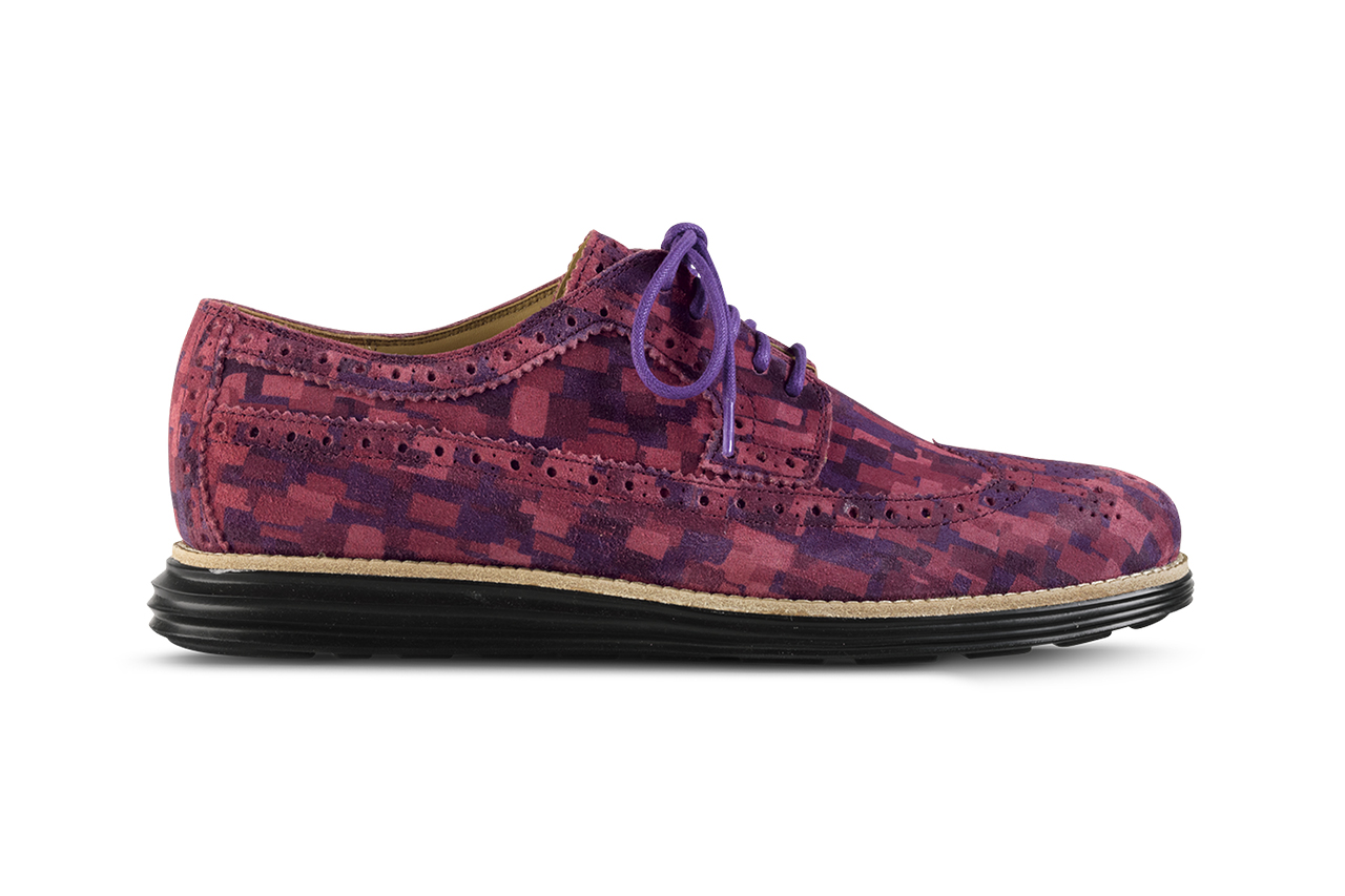 Cole Haan 2014 Spring LunarGrand Multi Mosaic Camo Collection