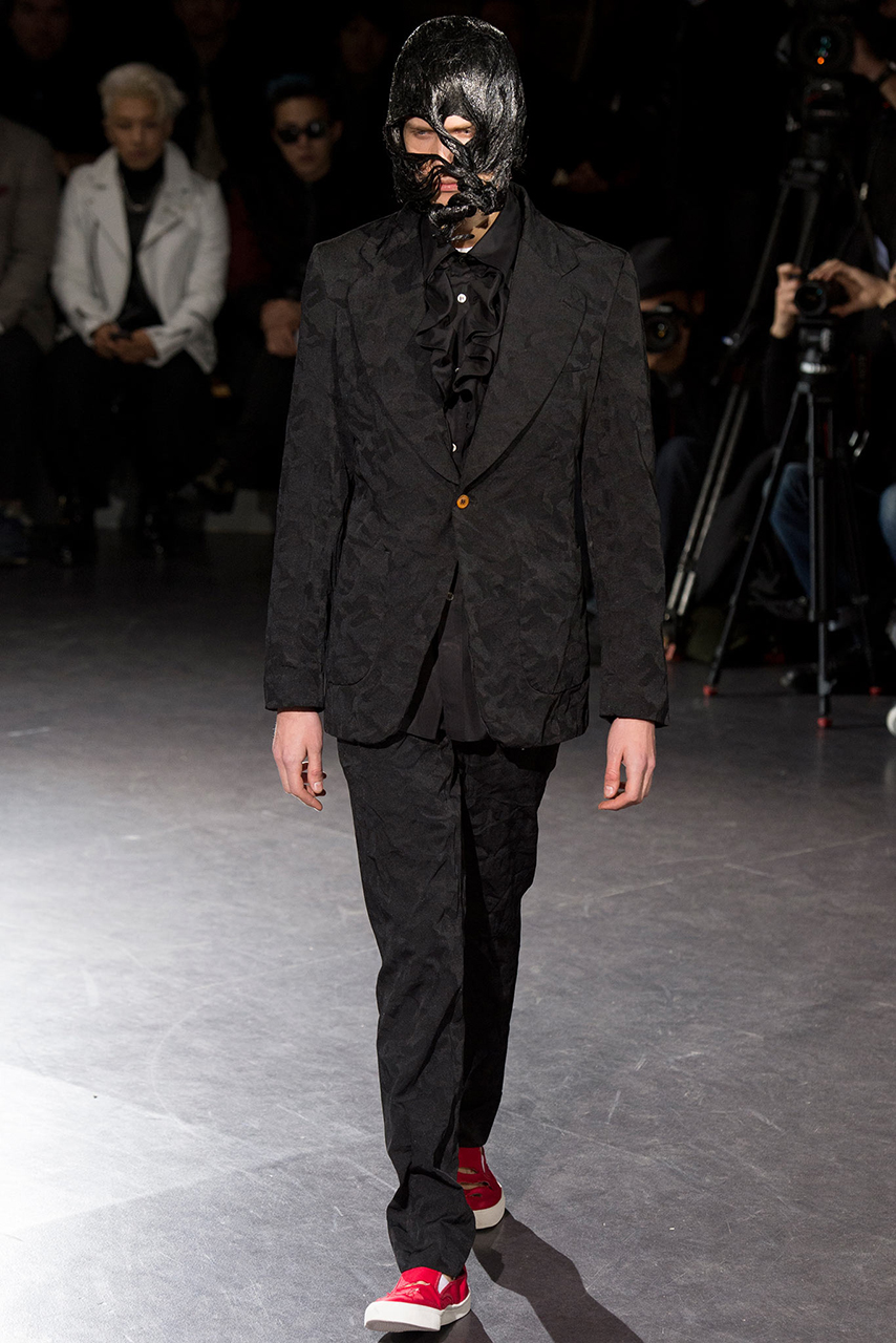 comme des garcons 2014 fall winter collection