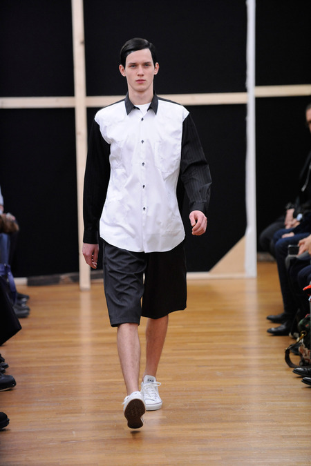 comme des garcons shirt 2014 fall winter collection