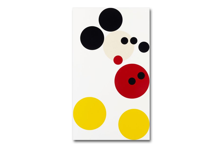 damien hirsts mickey painting to be auctioned in aid of kids company