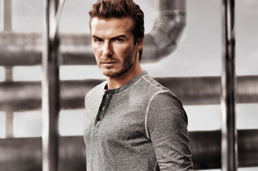 David Beckham Bodywear for H&M 2014 Spring Campaign