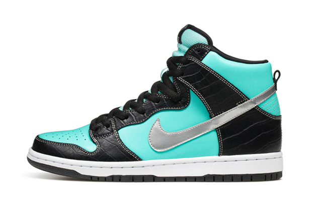 diamond supply co x nike sb dunk high