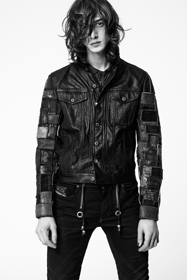 dieseltribute leather collection lookbook