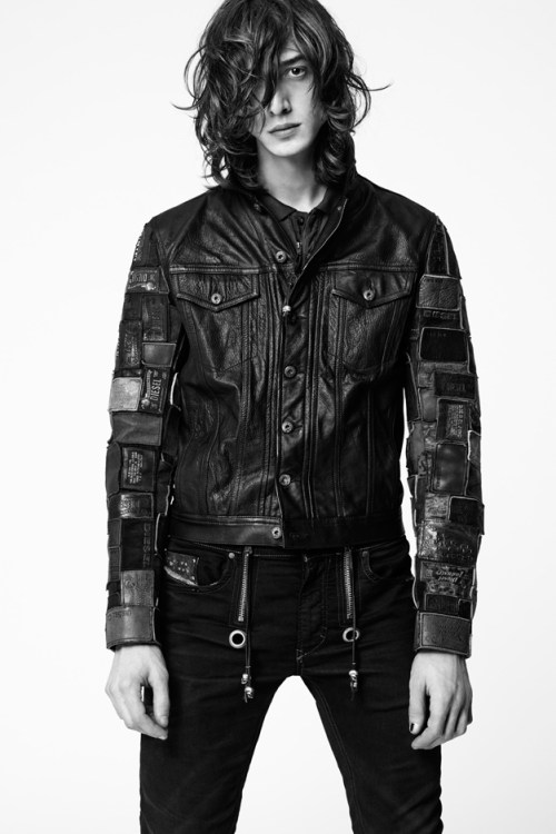 #DieselTribute Leather Collection Lookbook