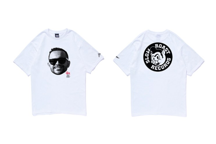 DJ CRAZE x Stussy Commemorative T-Shirt