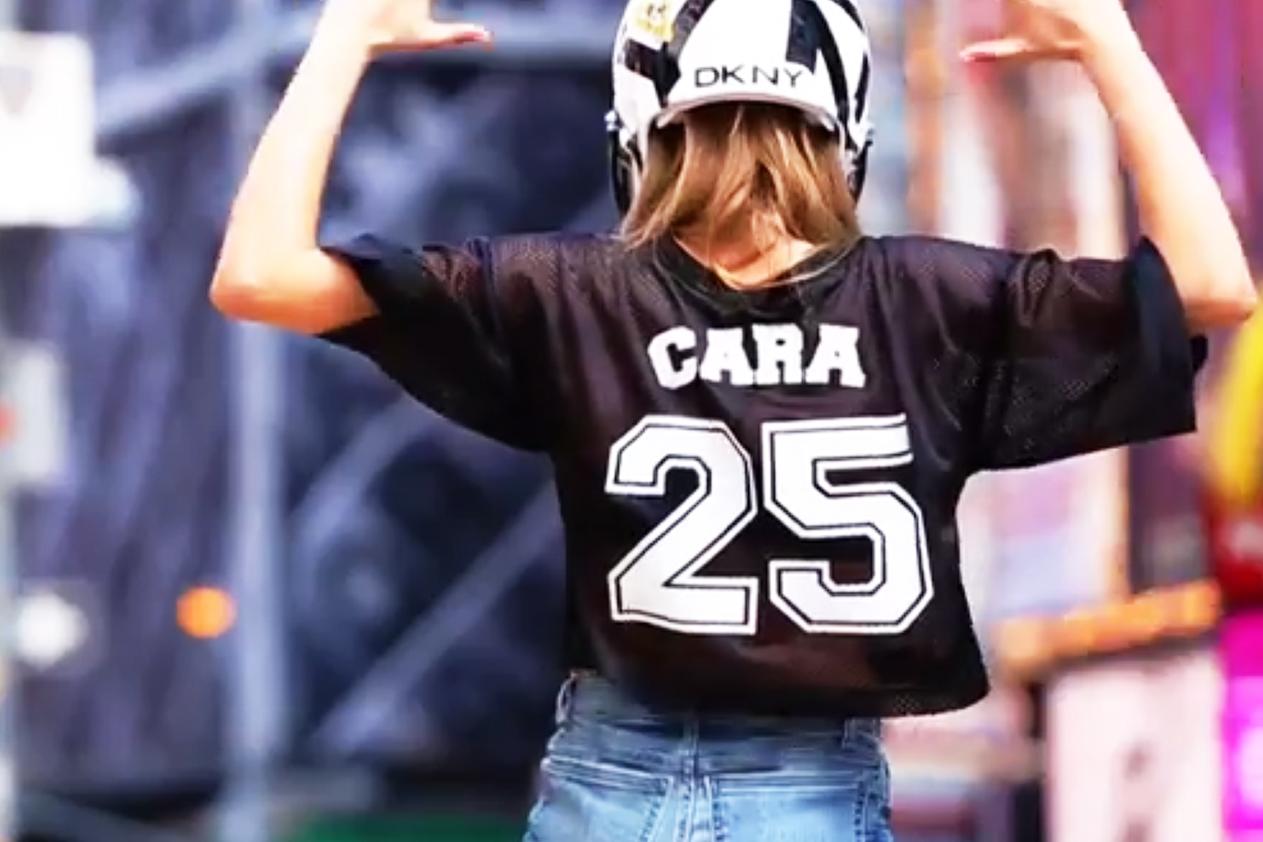 DKNY 2014 Spring/Summer #DKNYDRAFT Video with Jourdan Dunn, Cara Delevingne, Eliza Cummings & A$AP Rocky