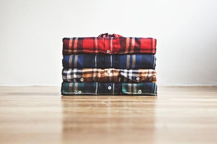 DQM Steamer Plaid Cotton Flannel Shirts