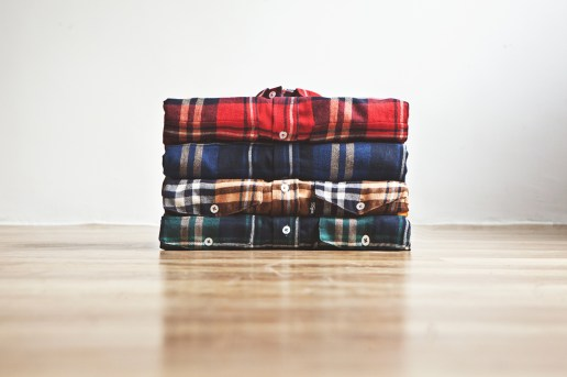 DQM Steamer Plaid Cotton Flannel Shirts