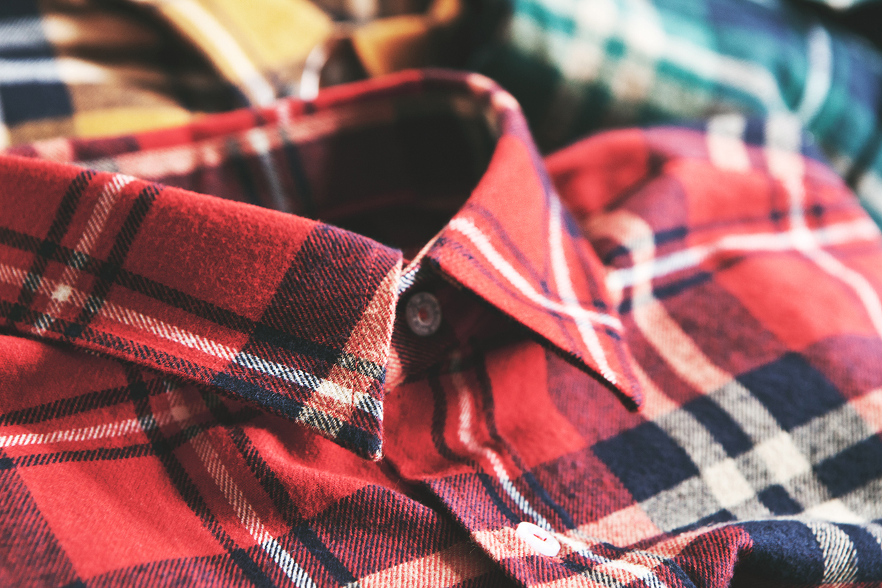 dqm 2013 fallwinter steamer plaid cotton flannel shirts