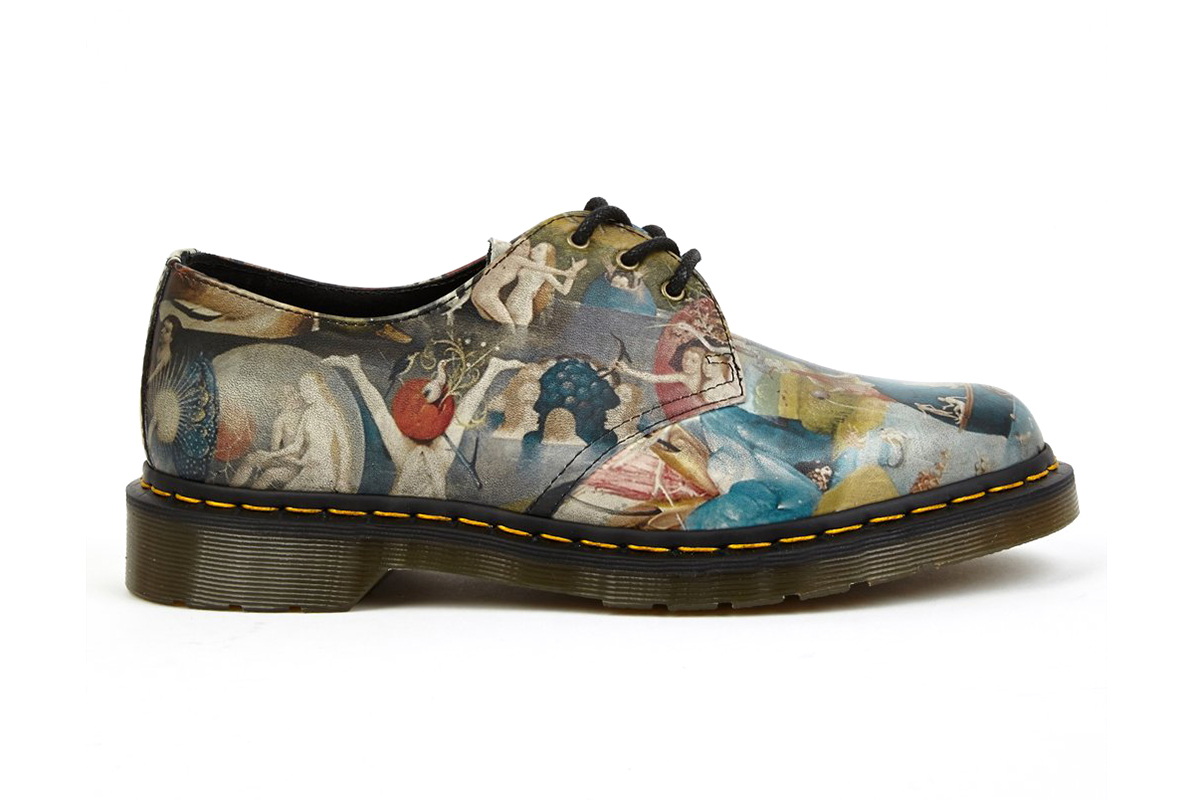 dr martens hieronymus bosch heaven three eye shoes