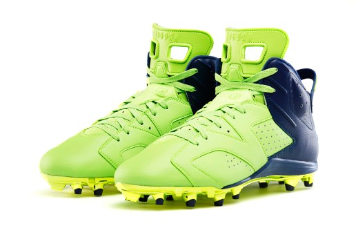 "Earl Thomas Air Jordan VI ""Action Green"" Cleat"