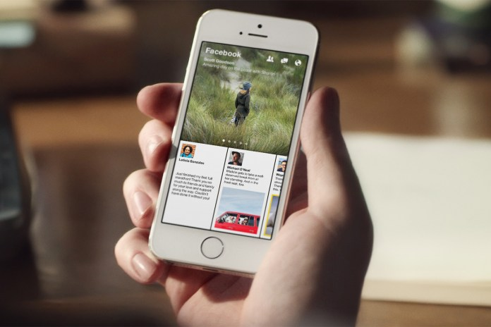 Facebook Introduces Paper News Reader for iOS