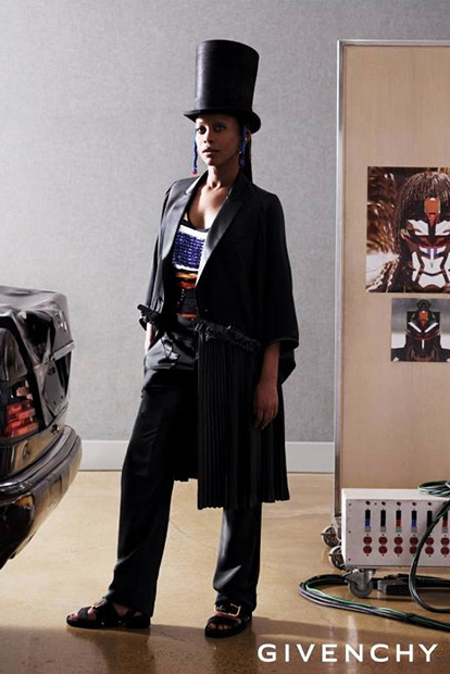 givenchy 2014 spring summer campaign featuring erykah badu