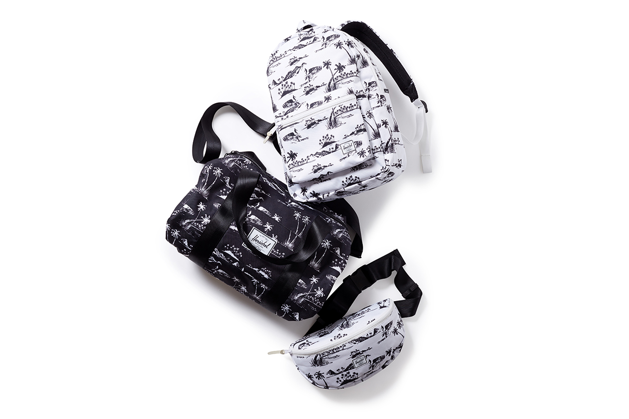 herschel supply co for beauty youth 2014 capsule collection