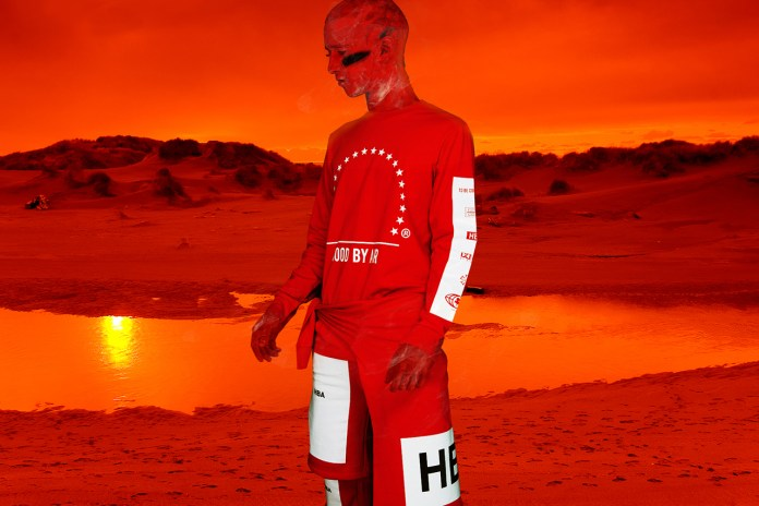 Hood By Air for Yo'Hood 2014 Red Collection