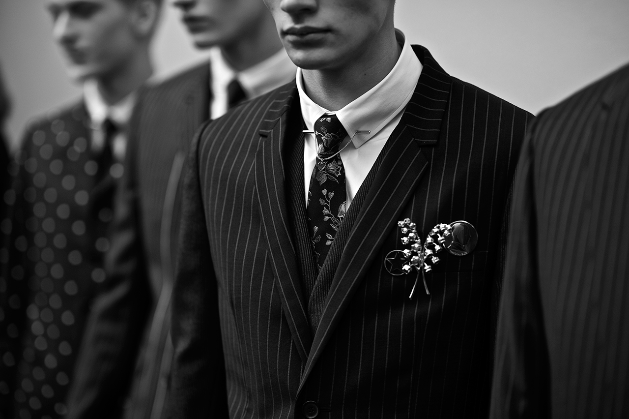 HYPEBEAST Goes Backstage at Dior Homme's Fall/Winter 2014 Show with Dapper Lou