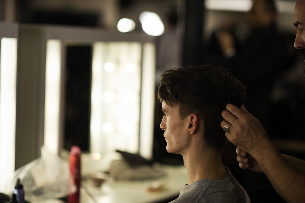 HYPEBEAST Goes Backstage at Paul Smith's 2014 Fall/Winter Show with Dapper Lou
