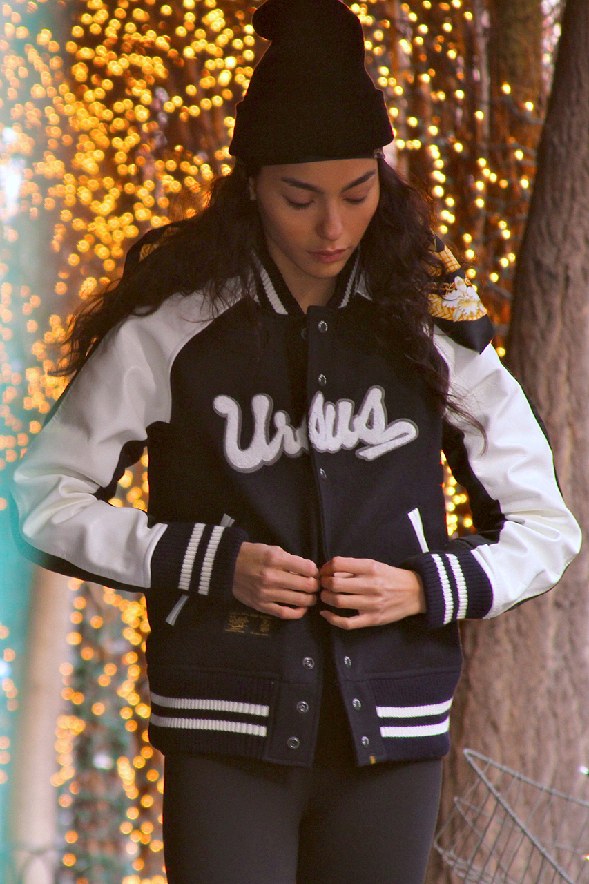 izzue army x ursus bape 2014 lookbook featuring adrianne ho