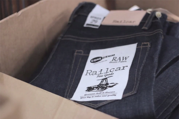 Railcar for Jiberish 2013 Fall/Winter American Raw Selvedge Denim