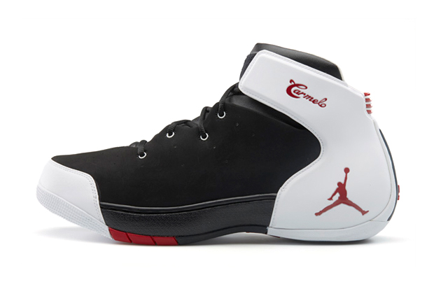 Jordan Melo 1.5 Black/Gym Red-White
