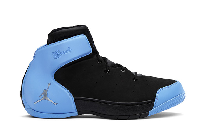 Jordan Melo 1.5 Retro Black/Metallic Silver-University Blue
