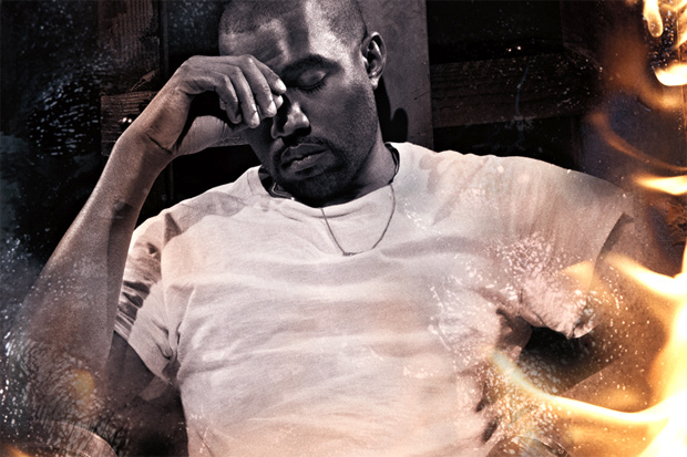 Kanye West by Steve McQueen for Interview Magazine