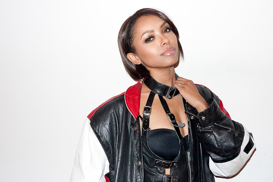 Kat Graham Visits Terry Richardson's Studio