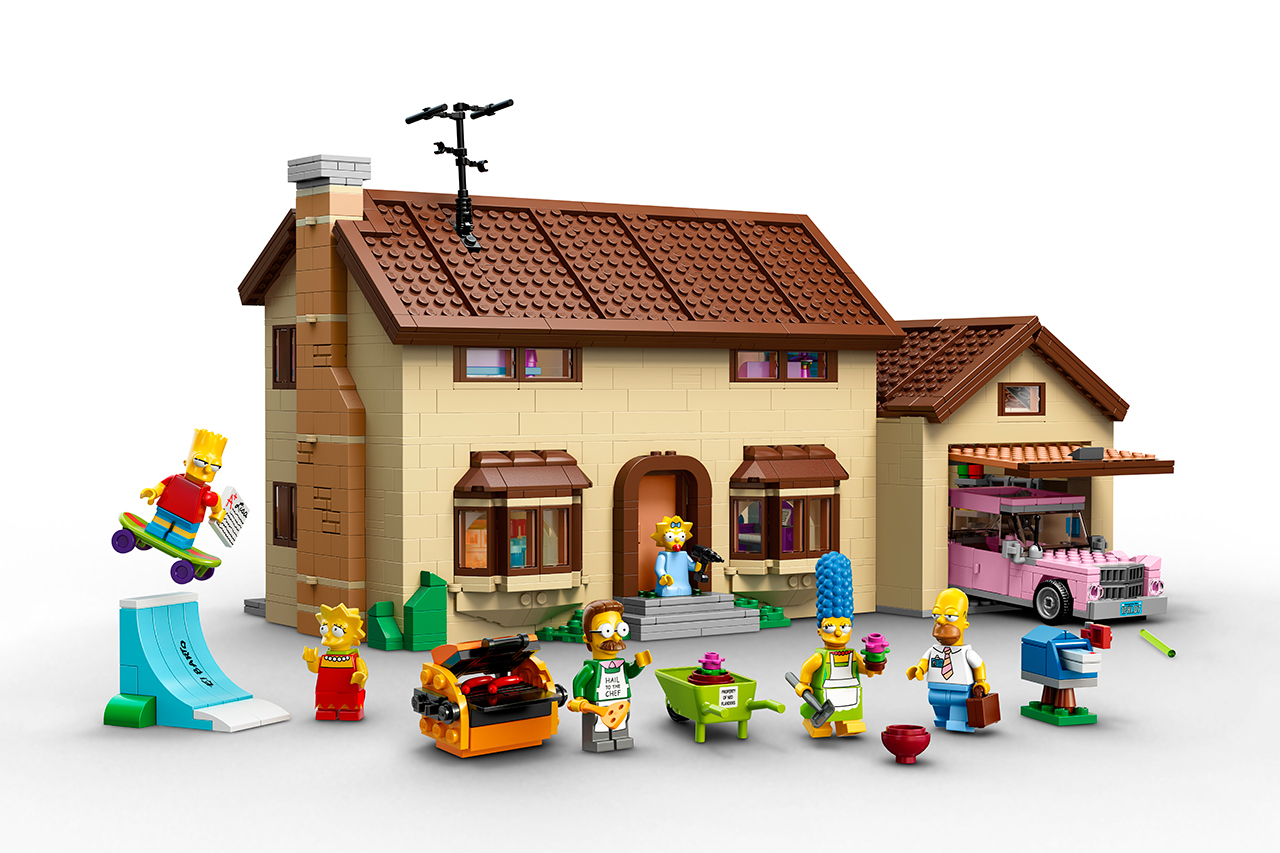 Official 'The Simpsons' LEGO Set