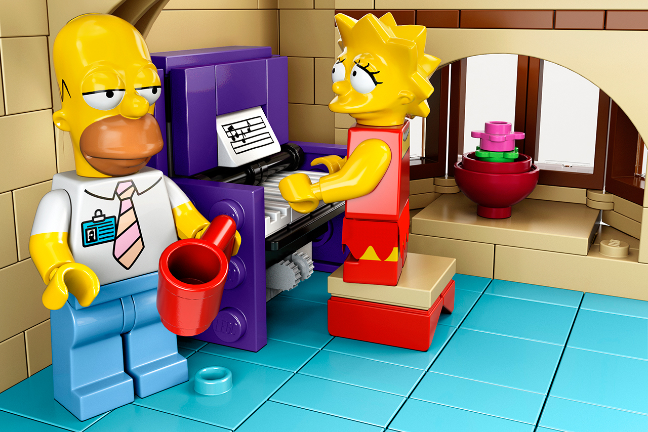 lego the simpsons sets