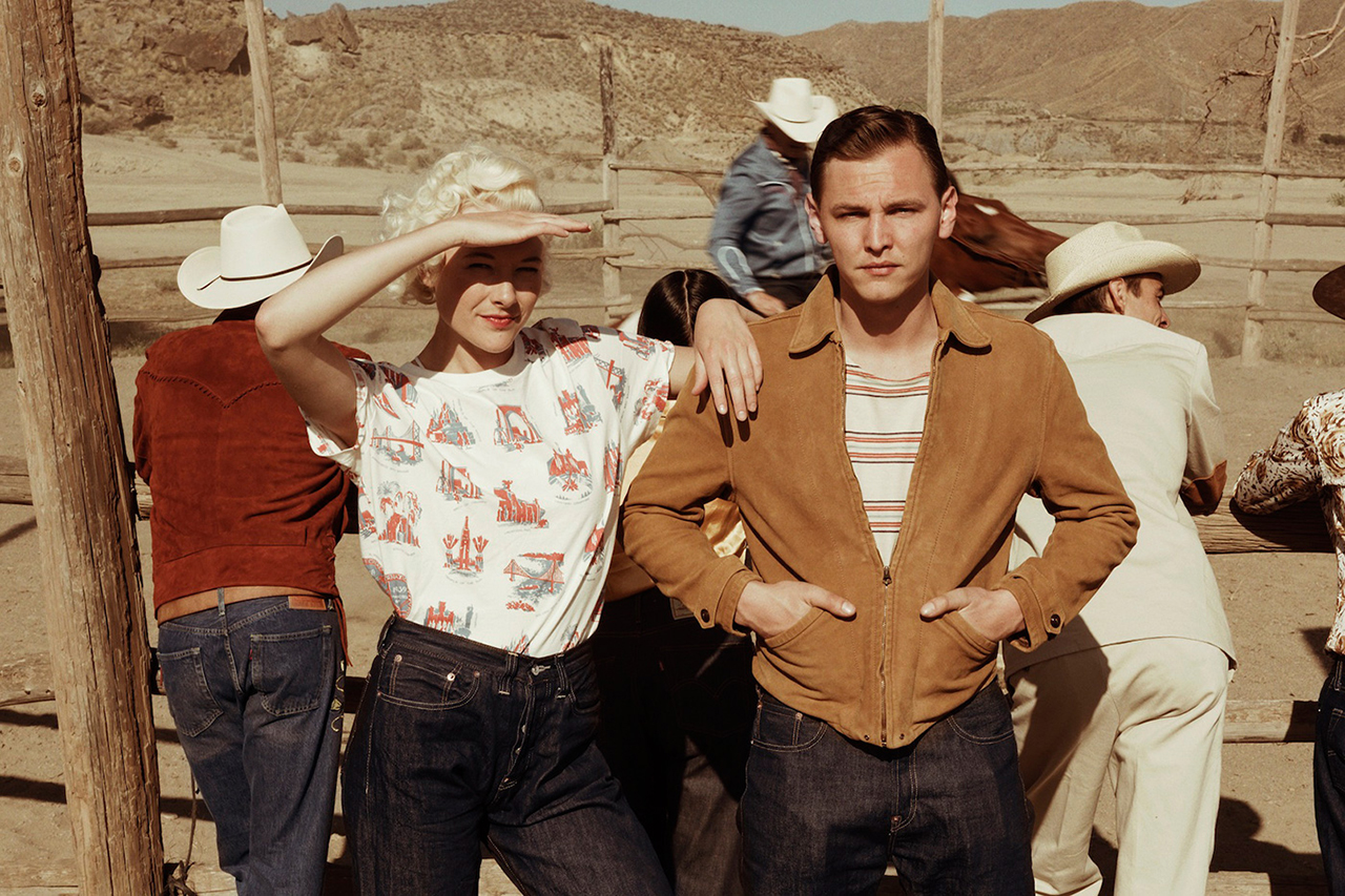 levis vintage clothing 2014 springsummer treasure island lookbook
