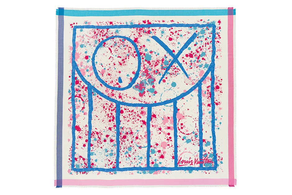 Louis Vuitton 2014 Spring/Summer Foulards D'Artistes Series by André, Kenny Scharf & INTI