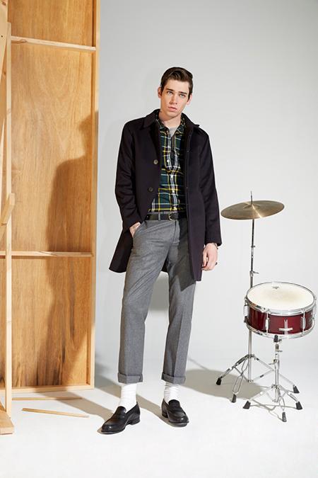 Maison Kitsuné 2014 Fall/Winter Lookbook