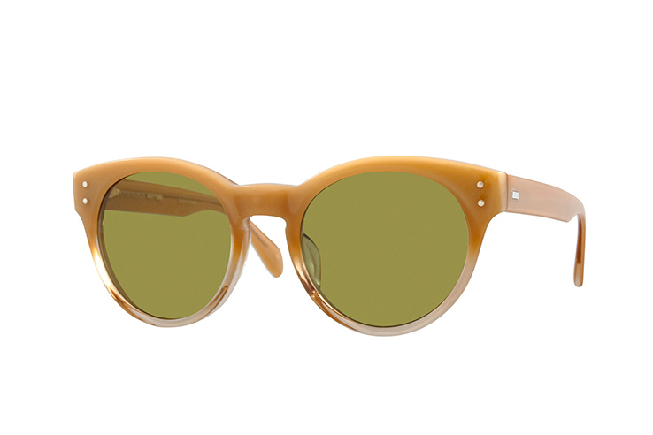 maison kitsune x oliver peoples 2014 spring summer collection