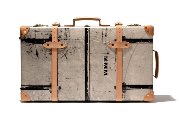 maison martin margiela x globe trotter 30 travel suitcase