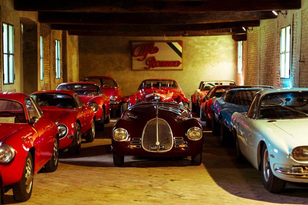 Mario Righini's Private Car Collection