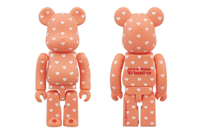 medicom toy 2014 valentines day 100 bearbrick
