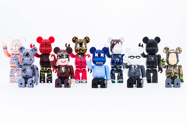 """Medicom Toy Bearbrick """"10 Designers"""" Collection Preview"""