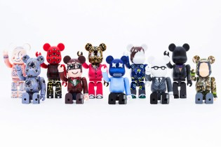 "Medicom Toy Bearbrick ""10 Designers"" Collection Preview"